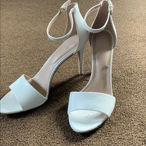 Aldo Shoes - Aldo white high heel sandals